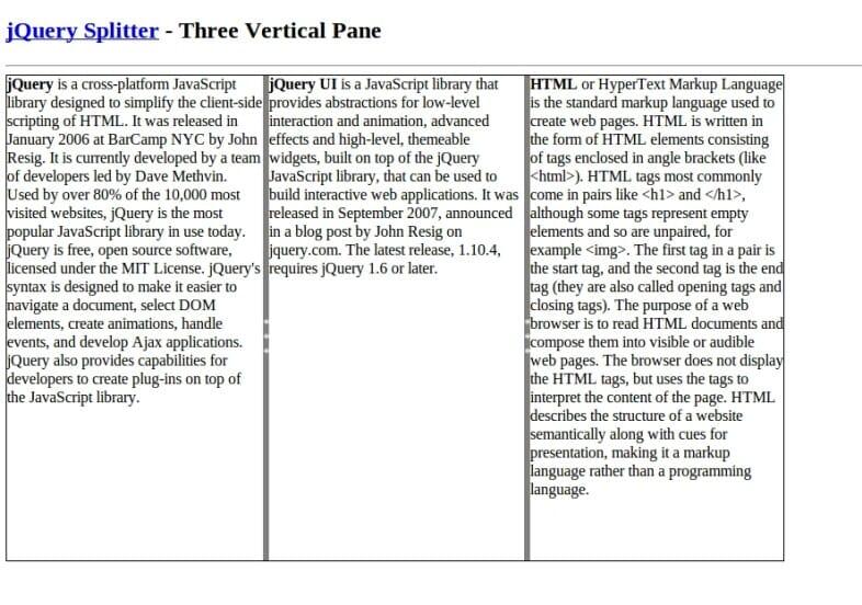 Three Pane
