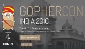 Gophercon India 2016 Volunteer Experience